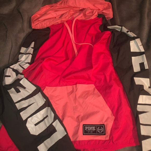 PINK Victoria's Secret Jackets & Blazers - PINK windbreaker jacket